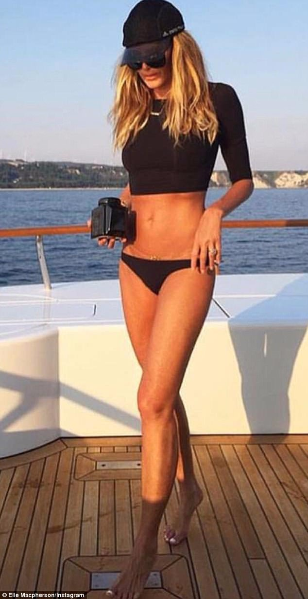 Body to die for! Elle has long been known for her killer physique