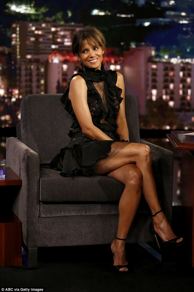She's still got it: Halle's new movie Kingsman: The Golden Circle is currently in theater, which also includes an A-list cast (Photographed in September)