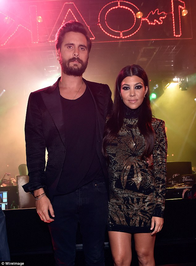 Co-parents: Reign is the youngest child of Rob's 38-year-old sister Kourtney Kardashian and Kourtney's 34-year-old on-off paramour Scott Disick