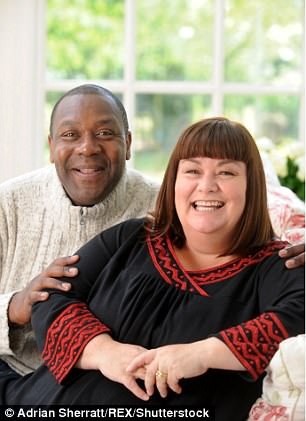 Dawn French with ex-husband Lenny Henry.Put simply, Dawn is natural. Dawn is a brick. But no longer, please, a breeze block