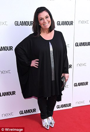 Dawn French attending the Glamour Women of The Year Awards in June