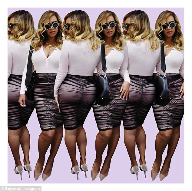 Oh Bey-have! This comes just a day after Beyonce proved she's snapped back into shape as she showcased her bodacious body in a series of Instagram photos on Friday