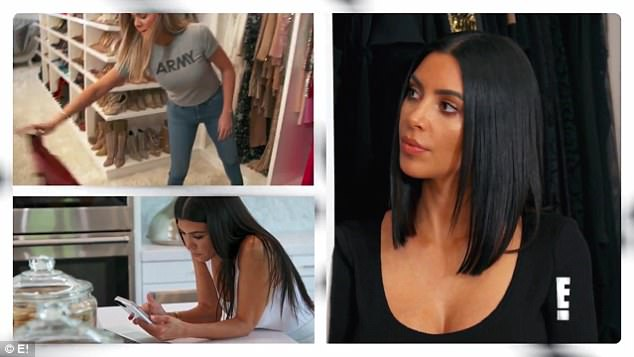 Concerned: Mother-of-three Kourtney added: 'If she just didn¿t have access to social media or just stopped looking at the blogs, I think that she would start to feel better'