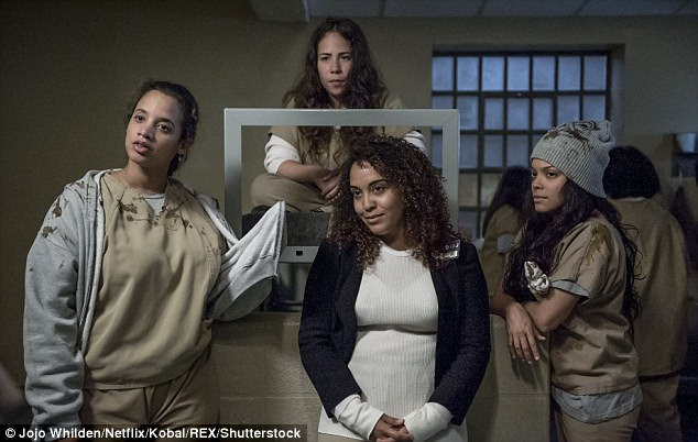 Orange Is The New Black:The comedy-drama Netflix series explores corruption, drug smuggling, funding cuts, overcrowding and guard brutality in jails