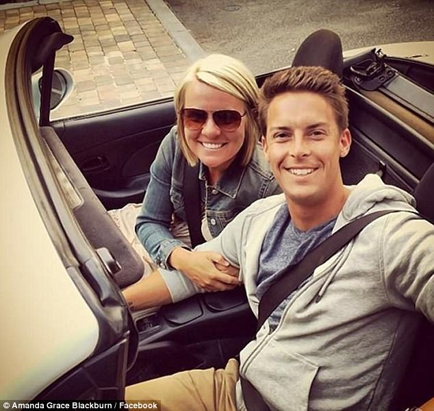Regarding his new relationship, Blackburn wrote in a blog post:'Lord, if you ever bring me another wife here's what I ask for, that she loves you more than she loves me, that she loves me, that she loves Weston, and that she loves Amanda