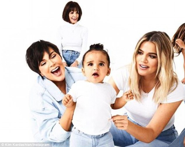 No Rob? The only Kardashian son Rob, 30, is noticeably absent, even though daughter Dream joined the festivities