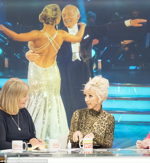 Support:And Debbie thinks Paul Daniels would have loved her stint on the show and would be 'looking down' on her with pride