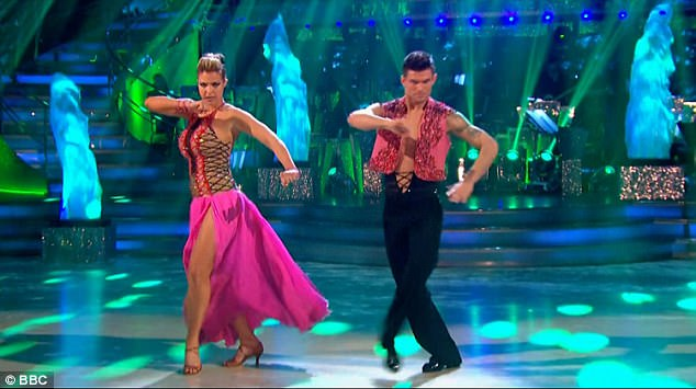 Dancing through life: Gemma missed out on winning Strictly Come Dancing during the live final on Saturday night. She had been partnered with Aljaz Skorjanec