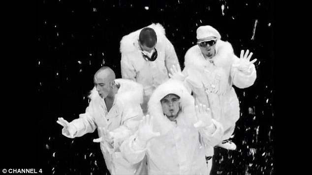 Originals: John Hendy, Terry Coldwell, Brian Harvey and Tony Mortimer had starred in the 1994 East 17 music video to Stay Another Day