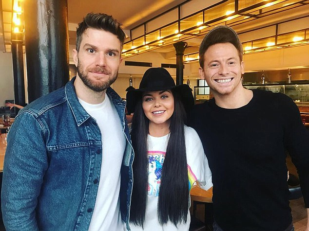 Exciting times: Scarlett will be heading out to Australia to host I'm A Celebrity spin-off show Extra Camp alongside Joel Dommett and Joe Swash