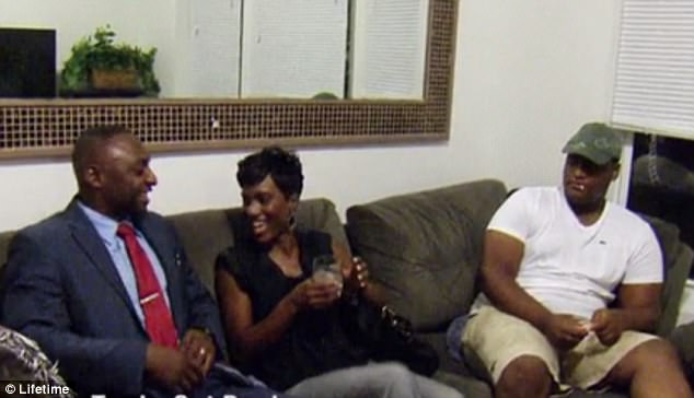Concerns: Nate is also worried that Sheila and his 17-year-old brother Tyree won't mesh