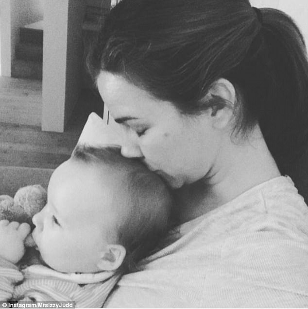 'She fought the race':However the pair were quick to gush how parenthood had changed them for the better in an interview with Hello! earlier this year, after welcoming Lola through IVF