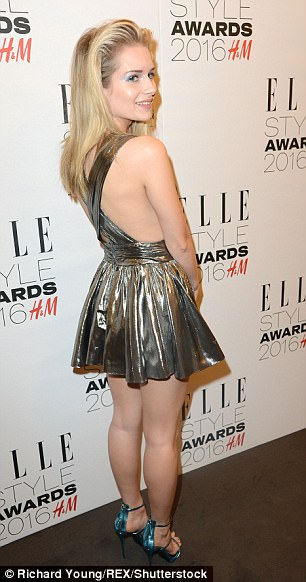 Younger sister Lottie at the Elle Style Awards last year