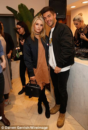 Lottie Moss and Alex Mytton attend The Dayrooms Launch Party