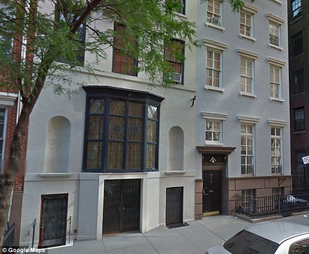 Resnicow allegedly  kicked up a fuss over Theroux's pricey $1m pad renovation at 71 Washington Place (pictured) when Theroux and Jennifer Aniston combined two apartments