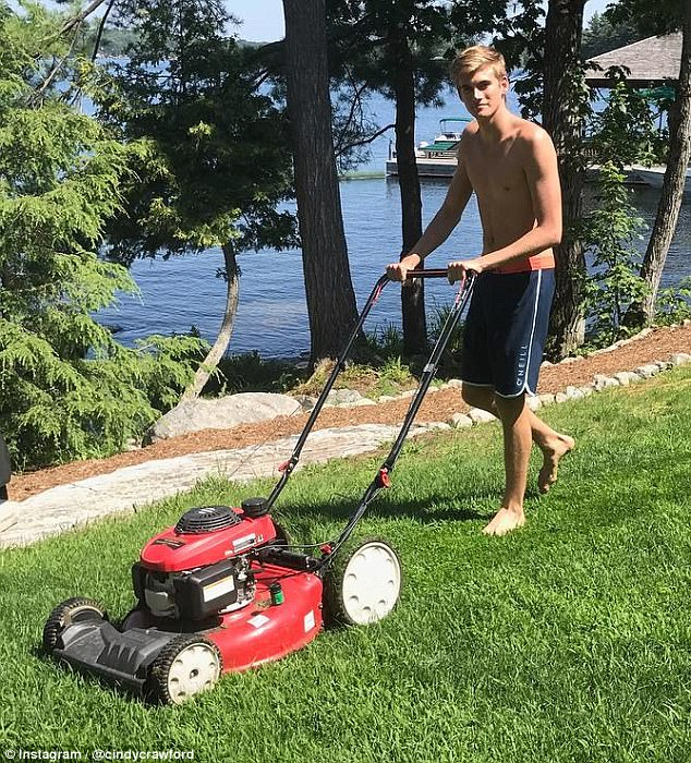 Not all vacation: There are still chores, like grocery shopping and mowing the lawn