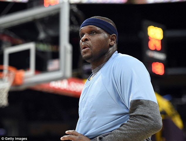 Randolph, a 16-year league veteran, spent 8 seasons with the Memphis Grizzlies before signing with the Sacramento Kings in July