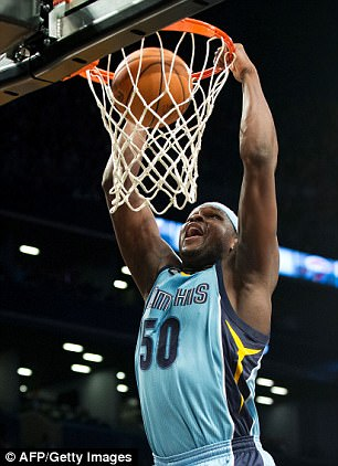 Randolph had just signed a two year contract with the Sacramento Kings for $24million