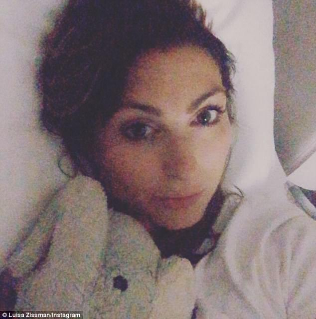 Ill:Luisa previously revealed that she hates being pregnant, yet 'adores' giving birth.Taking to Instagram on Wednesday the Apprentice finalist lamented her pregnancy