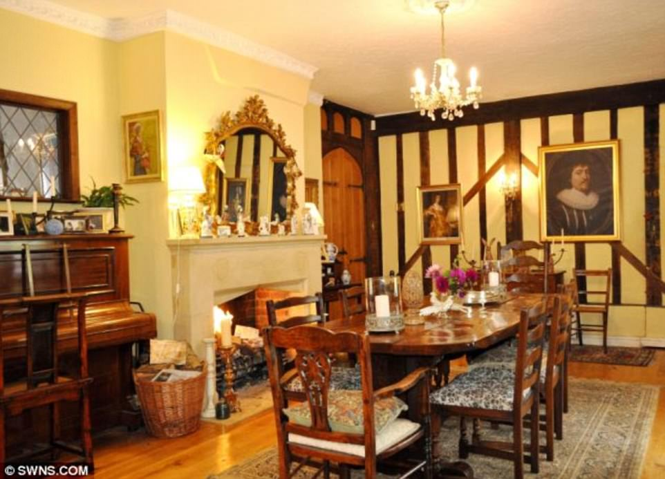 The five star self-catering wing features a reading room, sitting room, kitchen/breakfast room (pictured), shower room and two double bedroom suites