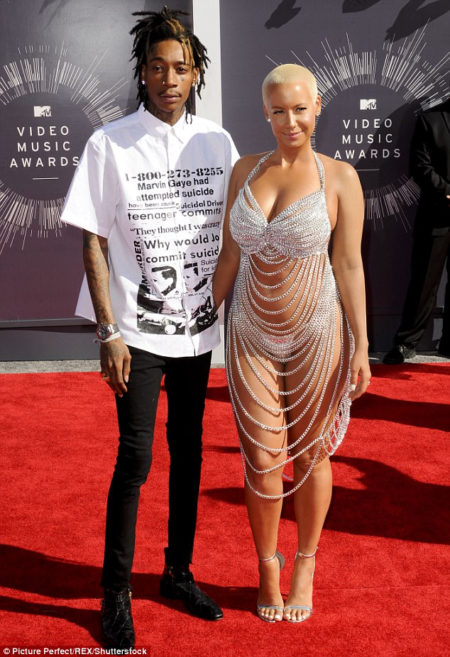 Former star couple: The curvy video star and TV host married Wiz, 29, on July 8, 2013 and they separated in September the following year