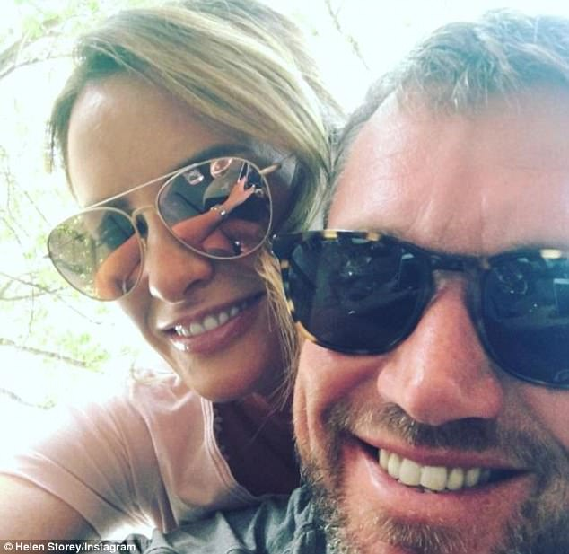 Mr Westwood split with his beauty therapist wife in 2015 and quickly found love again with model Helen Storey (pictured together), 40