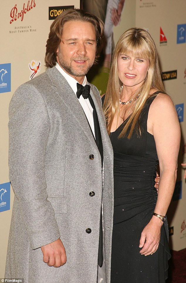 Just good friends:Terri celebrated her birthday on Thursday, Gladiator actor Russell Crowe took the occasion as an opportunity to wish her a happy birthday and quash romance rumours