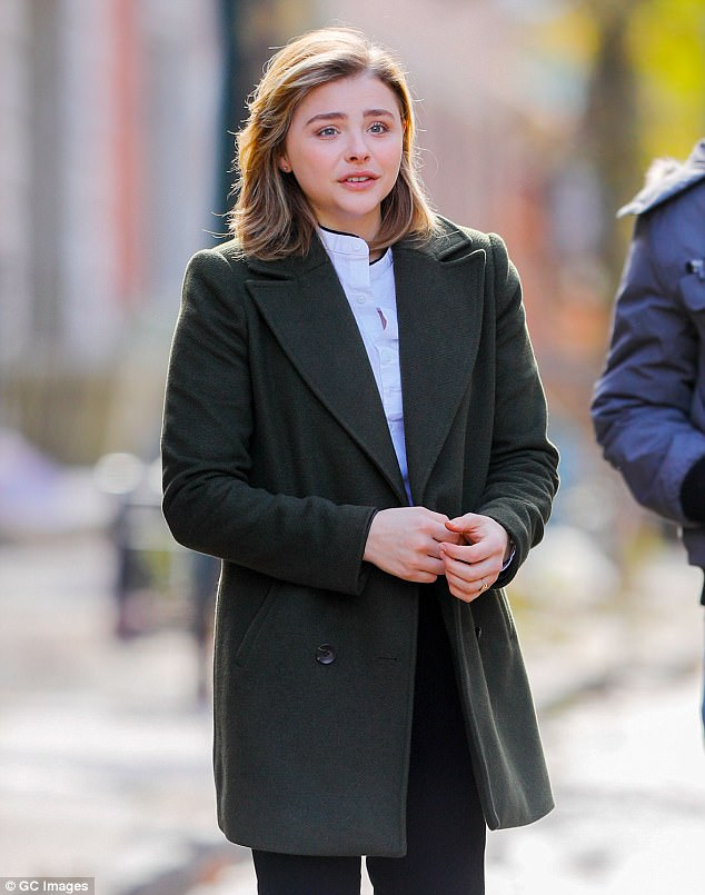 'I went through a hard year and I'm not going to hide that':Chloë credited those close to her with helping her through the rough patch