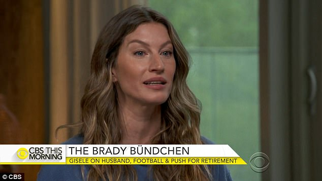 The NFL says there is 'no evidence' to support supermodel Gisele Bundchen's claims that her husband Tom Brady has suffered multiple unreported brain injuries while playing for the New England Patriots