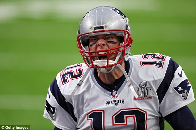 The Patriots did report leg, thigh and ankle injuries for the 39-year-old quarterback (above playing in the 2017 Super Bowl) during the 2016 calendar year