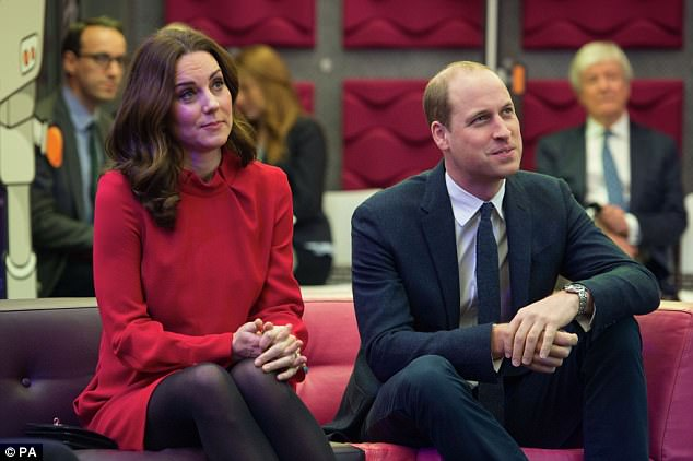 As for Kate and William, they are said to have 'taken forcefully' to Meghan, though Kate's crippling morning sickness has prevented her spending much time with the actress