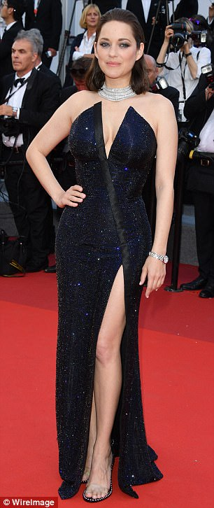 Usual look: The star is known for her glamorous and polished red carpet looks (pictured at Cannes last month)