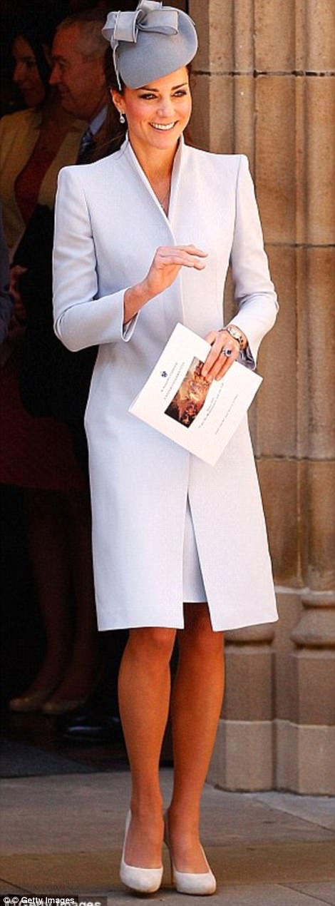 The Duchess on Easter Sunday in Sydney