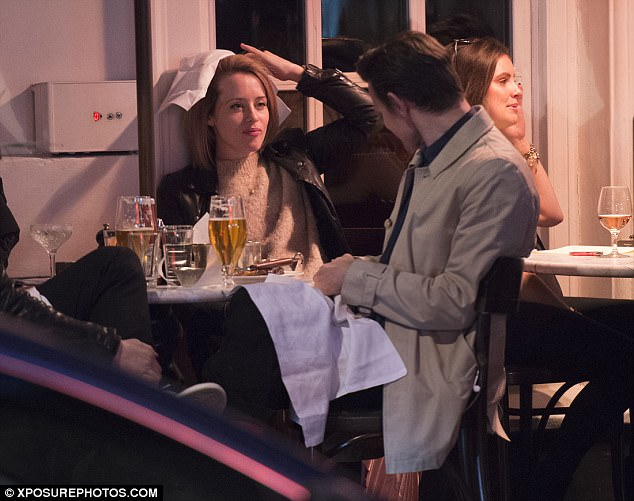 Joker:Enjoying a few beverages throughout their meal, things soon took a silly turn for the pair as they began to joke around together with a napkin over their food