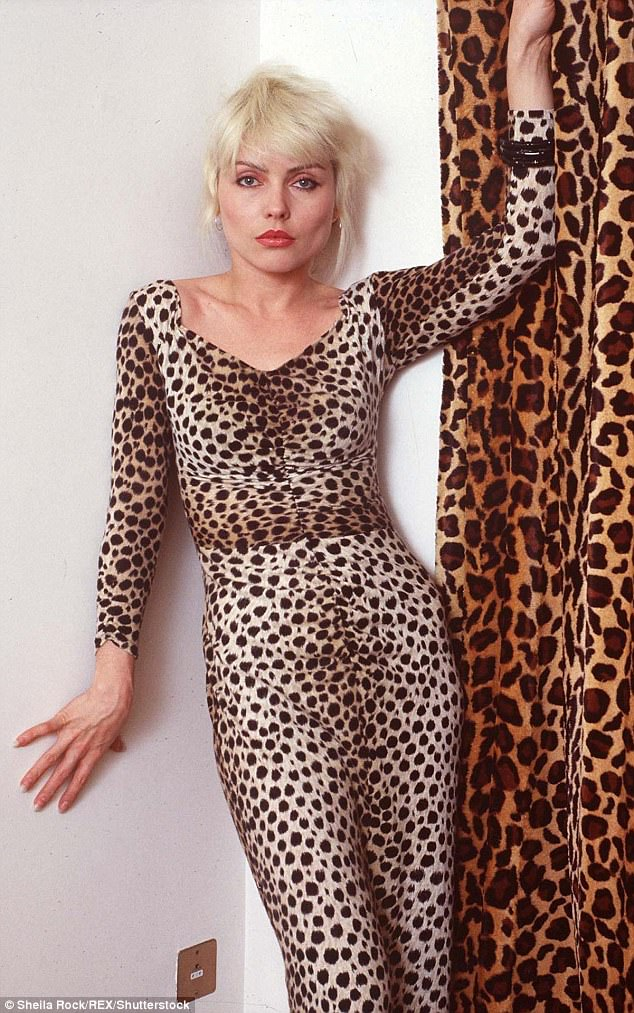 Iconic: The Heart Of Glass singer said that her look - a rock'n'roll Marilyn Monroe - was a key part of Blondie's success