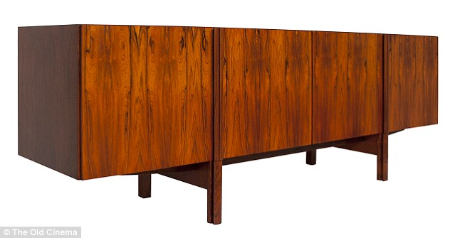 A cabinet revival! The sleek rectangular shaped pieces with angular legs are back in fashion, with this original 1960s Long Credenza by I.B.Kofod-Larsen version costing £8,800