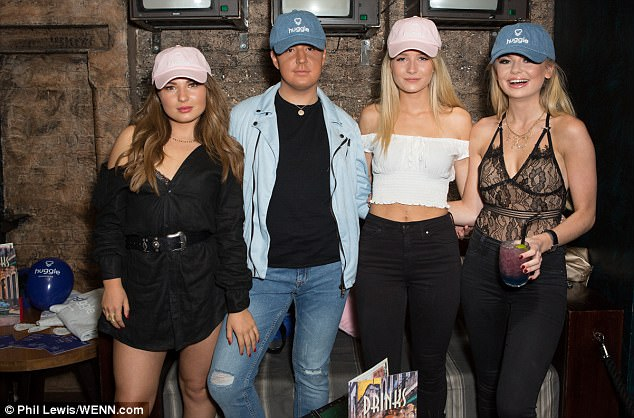 Taken:Lottie, who is reportedly seeing rugby fullback Elliot Clements Hill, may not have been looking for love but stole the show with her revealing outfit regardless
