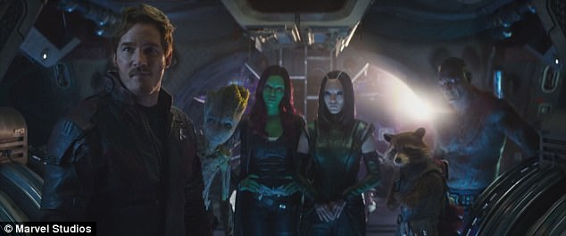 Guardians of the Galaxy! Chris will reprise his role as half-human, half-celestial  leader Peter Quill/Star-Lord in Avengers: Infinity War, which hits UK theaters April 27 and US theaters May 4