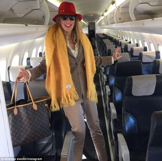 'I just get the entire aeroplane to myself' On Friday she jokingly boasted that she flew to Canberra on a plane all on her own