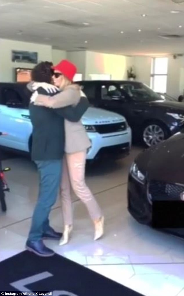 'The bigger the dream, the bigger the gift!': RHOS's Athena X gets gifted a luxury Jaguar sports car by her jeweller husbandPanos Levendi