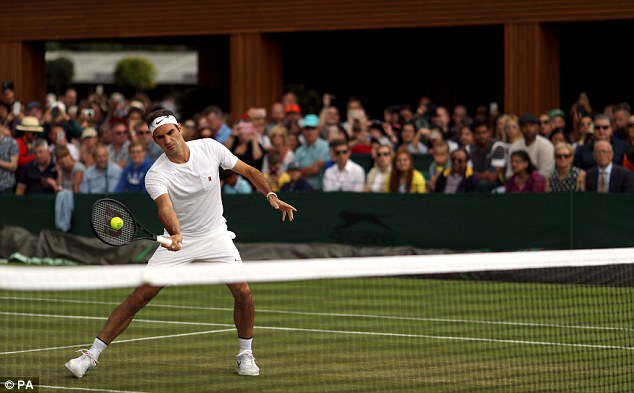 Main attraction:Day 11 of Wimbledon brings the men's semi-finals matches which will see Federer take on Czech player Tomáš Berdych