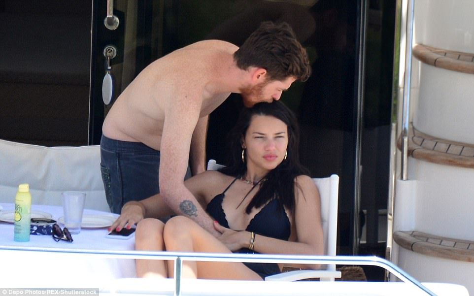 Cute: Throughout their holiday in Turkey, the pair have been spotted putting on a slew of passionate PDAs