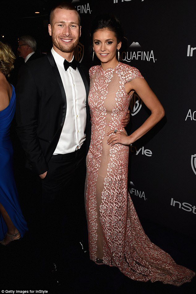 New love:According to HollywoodLife.com , Nina and Glen are said to be 'loving every minute' of being together