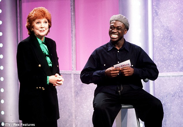 'Let's hear it for Cilla': Paul had paid tribute to Cilla during the first episode of Blind Date's new series in June - admitting he misses his long-term pal - she had hosted the show for 18 years