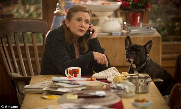 Two days before Christmas, Carrie Fisher was returning to Los Angeles from London after shooting her final scenes for season three of Catastrophe (Fisher in scene from show).Fisher tragically suffered a medical emergency aboard the flight and died on December 27