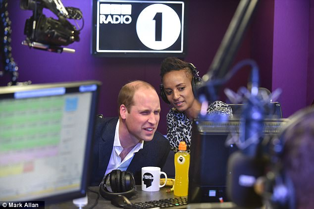 William opened up about ordering curry and enjoying box sets at home