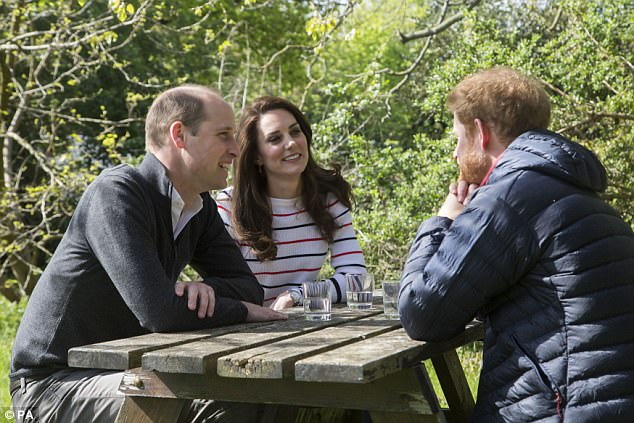 Prince William, Kate and Prince Harry have made a series of high profile appearances this week ahead of the London Marathon, which is supporting their drive to break down stigma around mental health issues