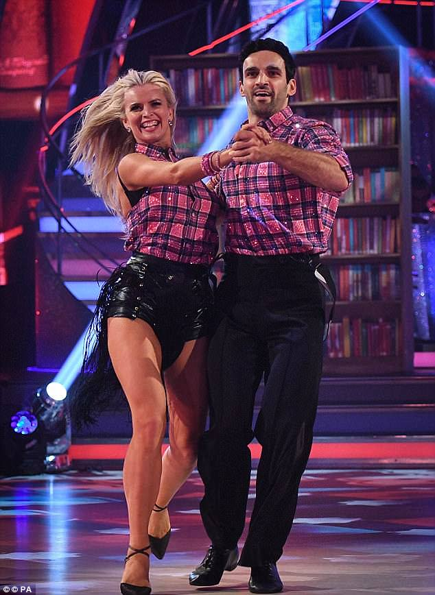 Fears:The 'overwhelming' sickness initially sparked fears it could have a knock-on effect on the actor's performance for Strictly Come Dancing's live show