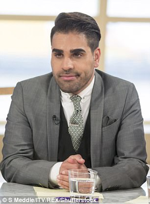 Dr Ranj says he hopes the campaign will make him feel better about himself