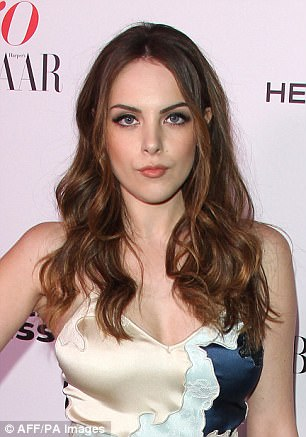 Revamp: Sex&Drugs&Rock&Roll's Elizabeth Gillies has taken over the part of the headstrong and promiscuous heiress Fallon Carrington (originally played by Pamela Sue Martin)